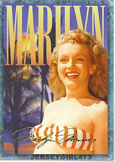 Marilyn Monroe 1993 Sports Time Card #97