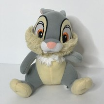 "Disney Thumper Bunny Rabbit Plush Stuffed Animal Beanie 7"" Tall Sitting  - $14.76"