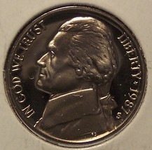 1987-S Cameo Proof Jefferson Nickel #0780 - $2.49