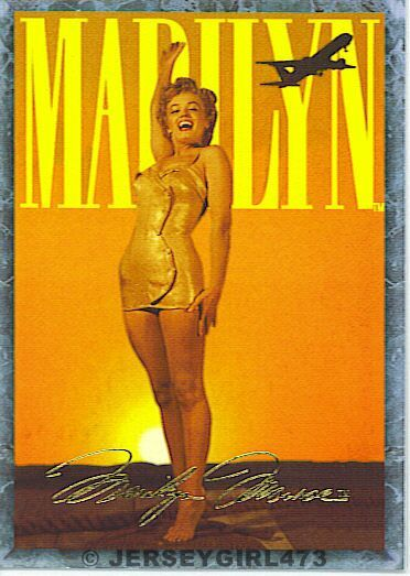 Marilyn Monroe 1993 Sports Time Card #80