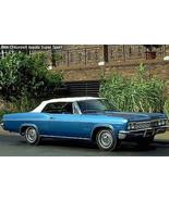 1966 Chevy Impala Super Sport white top | 24 x 36 INCH | sports car - $18.99