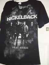 Nickel Back Dark Horse Tour 2010 T-Shirt Size Med Black - $19.00