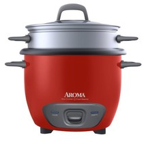 Aroma Housewares 6-Cup Cooked 3-Cup UNCOOKED Pot Style Rice Cooker and F... - $30.39
