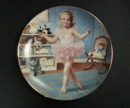 Danbury Mint Children of the Week Tuesday's Child Plate w/box, no COA - $8.99