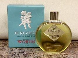 Vintage Lalique Bottle Je Reviens Worth Perfume 2 fl. oz MIB Paris, France - $70.00