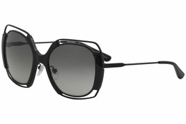 Tory Burch Women's TY6059 TY/6059 3249/11 Black Fashion Square Sunglasses 54mm - $232.65