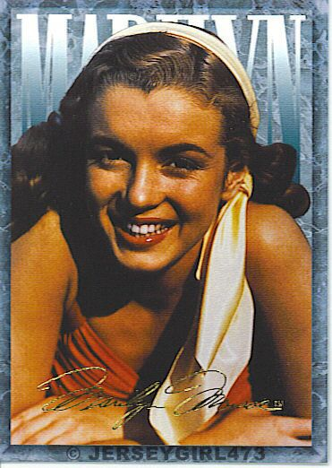 Marilyn Monroe 1993 Sports Time Card #58