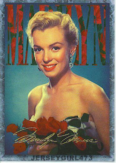Marilyn Monroe 1993 Sports Time Card #29