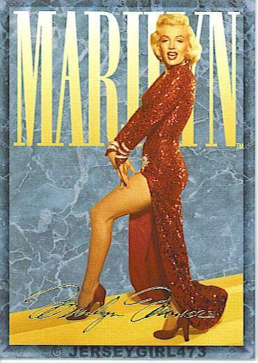 Marilyn Monroe 1993 Sports Time Card #8