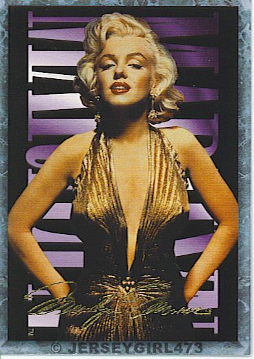 Marilyn Monroe 1993 Sports Time Card #4