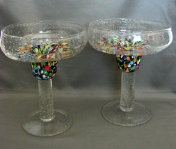 Pair of Taper Candle Holders ~Wide Mouth Pedest... - $7.99