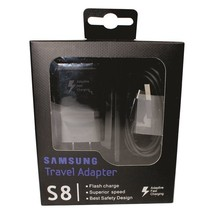 Original Samsung Galaxy S8 S9 Plus USB-C & MicroUSB Adaptive Fast Wall C... - $8.99
