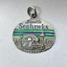 1998 Seattle Seahawks Season Ticket Holder Metal Tag Pendant - $15.00