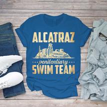 Swimming Funny Tee Alcatraz Penitentiary Swim Team San Francisco Unisex - $15.99+