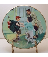 Home from Camp-Rockwell Plate - $29.99