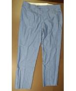 BROOKS BROTHERS FITZGERALD FIT MEN'S DRESS PANTS LIGHT BLUE 100% COTTON ... - $29.39