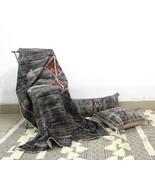 Boho Chick Blanket, Cactus Silk Inspired Cotton Throw Blanket, Decorativ... - $59.00