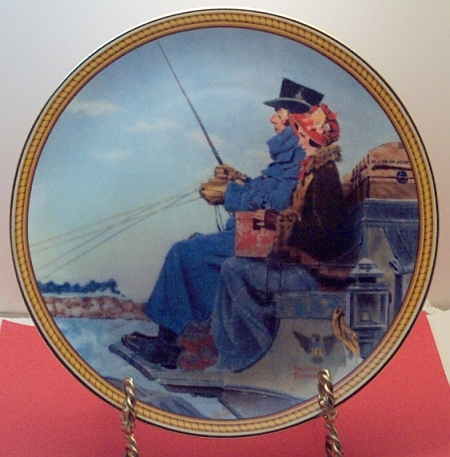 The Journey Home -Rockwell Plate