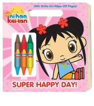 Super Happy Day! (Ni Hao, Kai-lan) (Write-On/Wipe-Off Activity Book) Gol... - $4.89