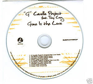 Tony Cruz (CD) Gone is The Love (9 D.J. Remixes)