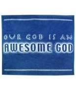 New - Biederlack Awesome God 60x50 Throw Blanket - $30.00