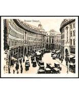 ENGLAND LONDON REGENT STREET BLACK and WHITE ORIGINAL REAL PHOTO - $4.99