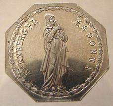 GERMANY NÜRNBERG STREETCAR 1921 token 20 pfennig Madonna Octagonal Token - $9.99
