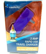 Travelocity 2 AMP Rapid USB Travel Charger New. - $0.99