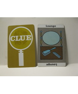 1950 Clue Board Game Piece: Lounge Location Card - $1.00