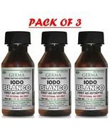 Germa White Iodo Tincture. Yodo Blanco. First Aid Antiseptic 1 FL OZ (Pa... - $10.79