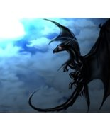 Baby Black Dragon - Dark Arts Magick Entity For Protection and Justice E... - $29.99