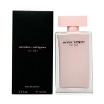 NARCISO RODRIGUEZ FOR HER EAU DE PARFUM SPRAY 100 ML/3.3 FL.OZ. NIB - $68.80