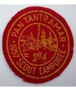 Pan Tantramar Camporee Boy Scouts Felt Patch 1957 - $15.00