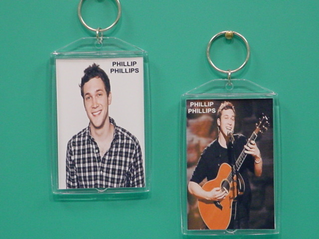 Phillip Phillips 2 Photo Designer Collectible Keychain
