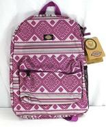 Dickies Pink Geometric Shape Student Backpack  - £30.92 GBP