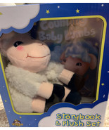 Crown Jewlz Kidz Story Book  And Plush Counting Baby Lambs, New In Box - $19.39