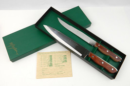 NOS Maxam Precision Hollow Ground Full Tang Carving Knife Set / Knives Chef New - $27.67