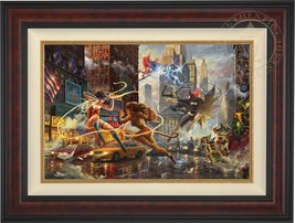 Thomas Kinkade Women of DC 18 x 27 LE G/P Canvas (Framed) DC Art - $1,160.00