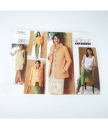 Vogue Pattern V2864 Misses 8 10 12 Jacket Dress Blouse Pants YES - $14.99