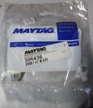 Maytag Genuine Factory Part #306436 Dryer Door Latch Kit - $12.89