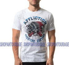 Affliction AC Wyoming A20415 New Short Sleeve Fashion Graphic T-shirt For Men - $51.39