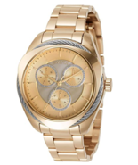BRAND NEW INVICTA BOLT 30893 GOLD STAINLESS STEEL CHRONOGRAPH WOMEN'S WATCH - £147.63 GBP