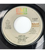 Peter Wolf – Lights Out / Poor Girl's Heart 45 rpm EMI America Records 1984 - $6.89