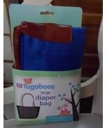 Rite Aid Tugaboos large Diaper Bag blue and brown - $9.99