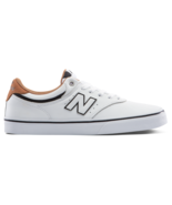 MENS NEW BALANCE NUMERIC 255 SKATEBOARDING SHOES WHITE BLACK     (WBL) - $62.99
