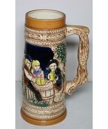 "Vintage Ceramic Japan 9"" German Holland Windmill Pottery Beer Stein Handled Mug - $4.94"