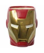 BRAND NEW Marvel Iron Man Head 12 oz Molded Ceramic Mug - $19.79