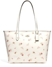 New Coach F29487 City Zip Tote With Daisy Bundle Print - $148.50