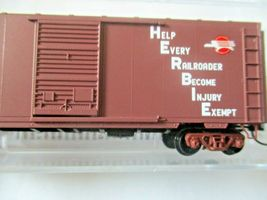 Micro-Trains # 07300260 Missouri Pacific 40' Standard Box Car Single Door (N) image 3