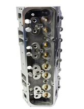 SBC Small Block Chevy GM Angle Plug Aluminum Cylinder Head Set 64cc 2.02/1.60 image 6